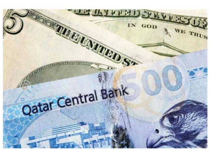 الريال القطري يرتفع أمام الدولار في سوق التعاملات الآجلة