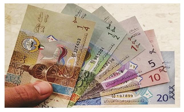 الدينار الكويتي يواصل ارتفاعه القياسي